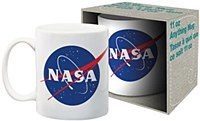 Nasa Logo Boxed Mug