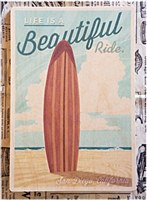 Beautiful Ride Wooden Postcard