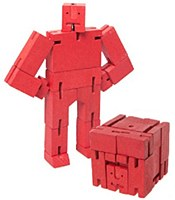 Cubebot - Red