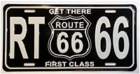 Rt. 66 Get There First Plate
