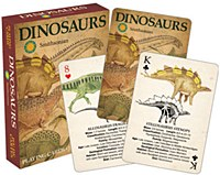 Dinosaur Playing Cards