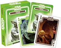 Sw Yoda Playing Cards
