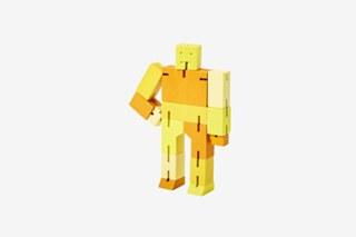 Cubebot - Yellow Multi