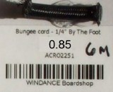 """Bungee cord - 1/4"""" [6mm]"""