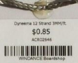 Dyneema 12 Strand 3MM/ft.