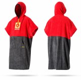 Mystic Poncho Red