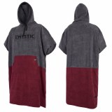 Mystic Mens Poncho Dark Red