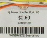 Q Power Line Per Foot