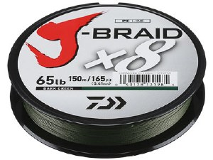 DAIWA J-BRAID 50-330YD GREEN