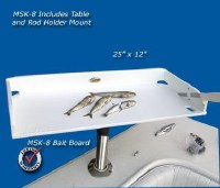 DB ROD HOLDER BAIT TABLE 25x12