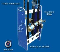 DEEP BLUE ROD RACK FS-18-IN