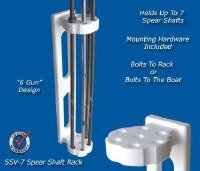 DEEP BLUE SPEAR SHAFT HOLDER
