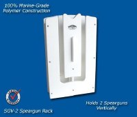 DEEP BLUE VERT-2 SPEARGUN RACK