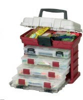 PLANO 4 DRAWER TACKLE BOX GRN