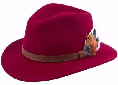 Alan Paine Richmond Unisex Felt Hat
