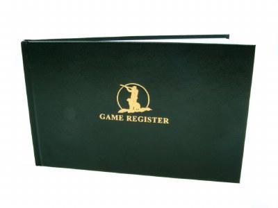 Game Register Book