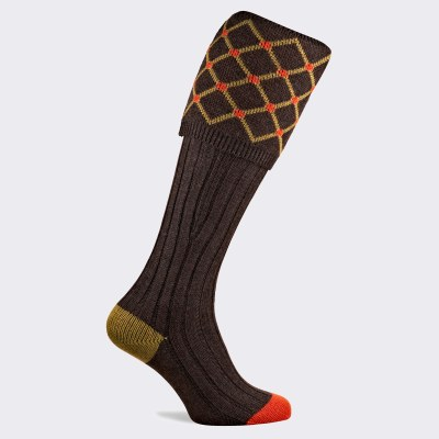 Pennine Regent Sock Mocha XL