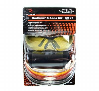 Radians 5 Lens Safety Glasses