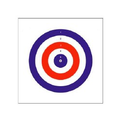 Bisley Coloured Targets 25pk