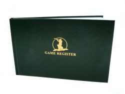 Game Register Book