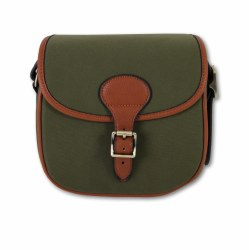 Maremmano Canvas and Leather Cartridge Bag