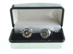 Derek Lee Gunsmiths Bullet End Country Cufflinks