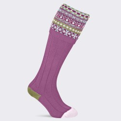 Pennine Fairisle Sock