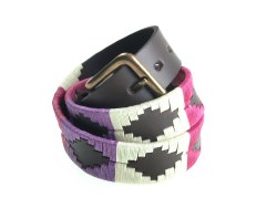 Pioneros Polo Belt Berry/Purple/White
