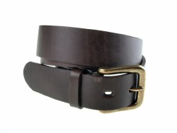 Pioneros Polo Belt Plain Brown