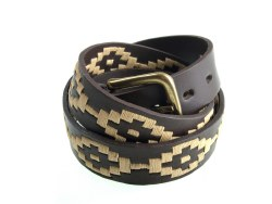 Pioneros Polo Belt Cream Dot