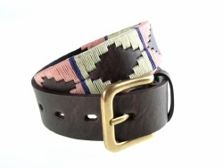 Pioneros Polo Belt Pink/White/Purple