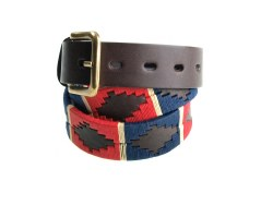 Pioneros Polo Belt Red/Navy/Cream