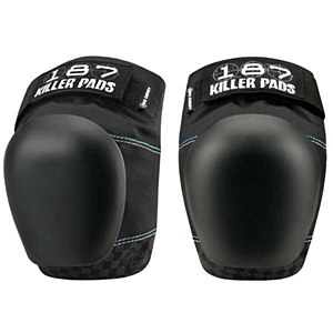 187 Killer Pro Derby Knee Black L
