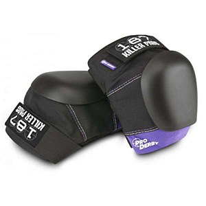 187 Killer Pro Derby Knee Purple L