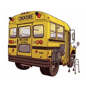 Creature Manic Bus Sticker