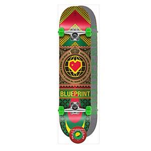 Blueprint Home Heart Rasta Complete 8.00