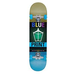 "Blueprint Spray Pachinko Yellow/Blue Complete 7.75"""