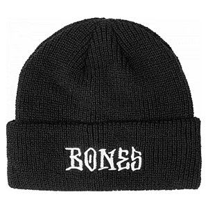 Bones Wheels Stitch Beanie