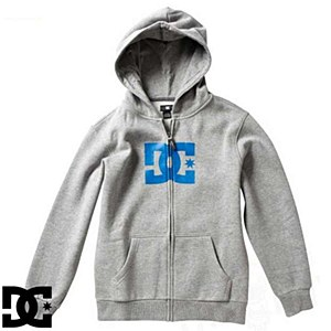 DC All Star Sherpa Grey Hoody Youth S