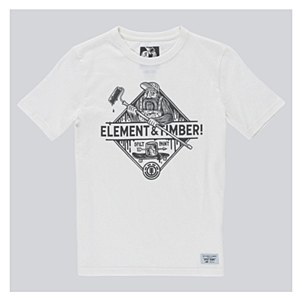 Element Rolling Timber! Split T-Shirt Youth 12