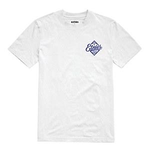 Etnies Brass T-Shirt White Large
