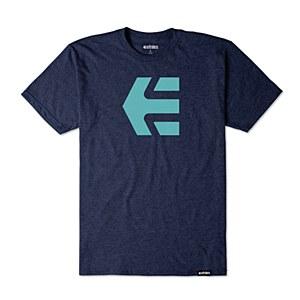 Etnies Mod Icon T-shirt Navy Large