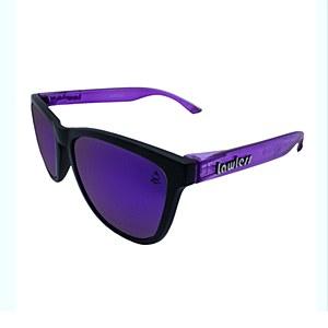 Lawless Eyewear Bandit Sunglasses Black Purple - Purple