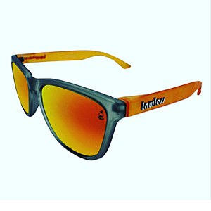 Lawless Eyewear Bandit Sunglasses Red Green - Yellow