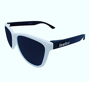 Lawless Eyewear Bandit Sunglasses White Black - Grey