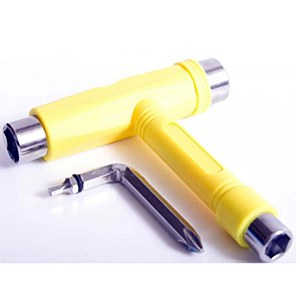 Ninja skateboard Tool Yellow