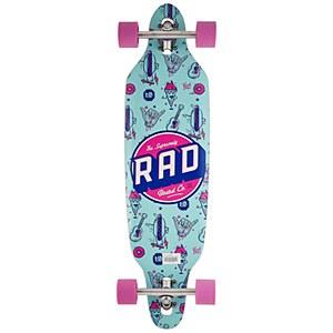 Rad Board Co. Wallpaper Longboard Purple