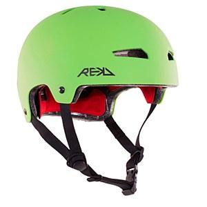 REKD Elite Helmet Matt Green Small