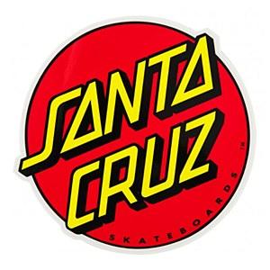 Santa Cruz Classic Dot Sticker Large