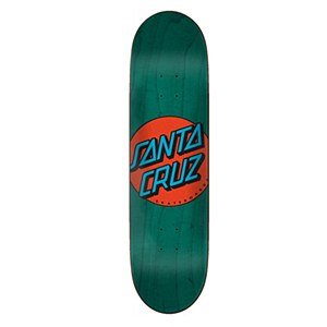 Santa Cruz Classic Dot Taper Tip Green 8.375""